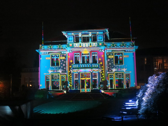 Brand, Annual Light Festival 2013, Dommel Hoof