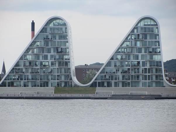 Vejle, Denmark, Apartments, Building, Unique