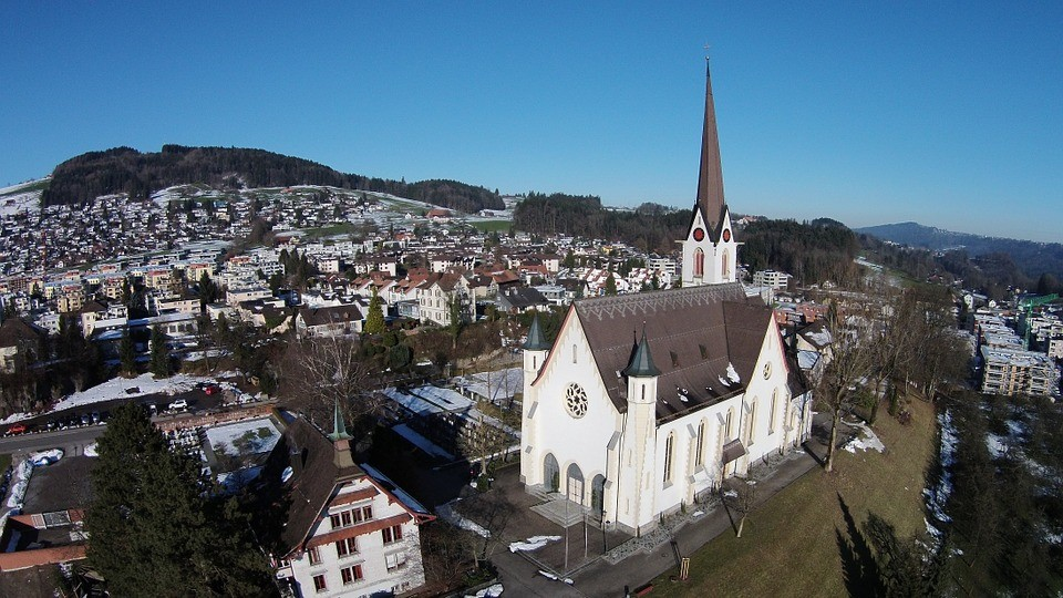 Removals to Switzerland - St Gallen